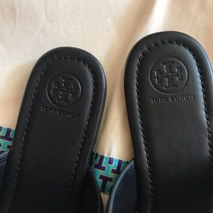 Tory Burch Shoes - NEW Tory Burch Marsden Flat Sandals Sz 10.5